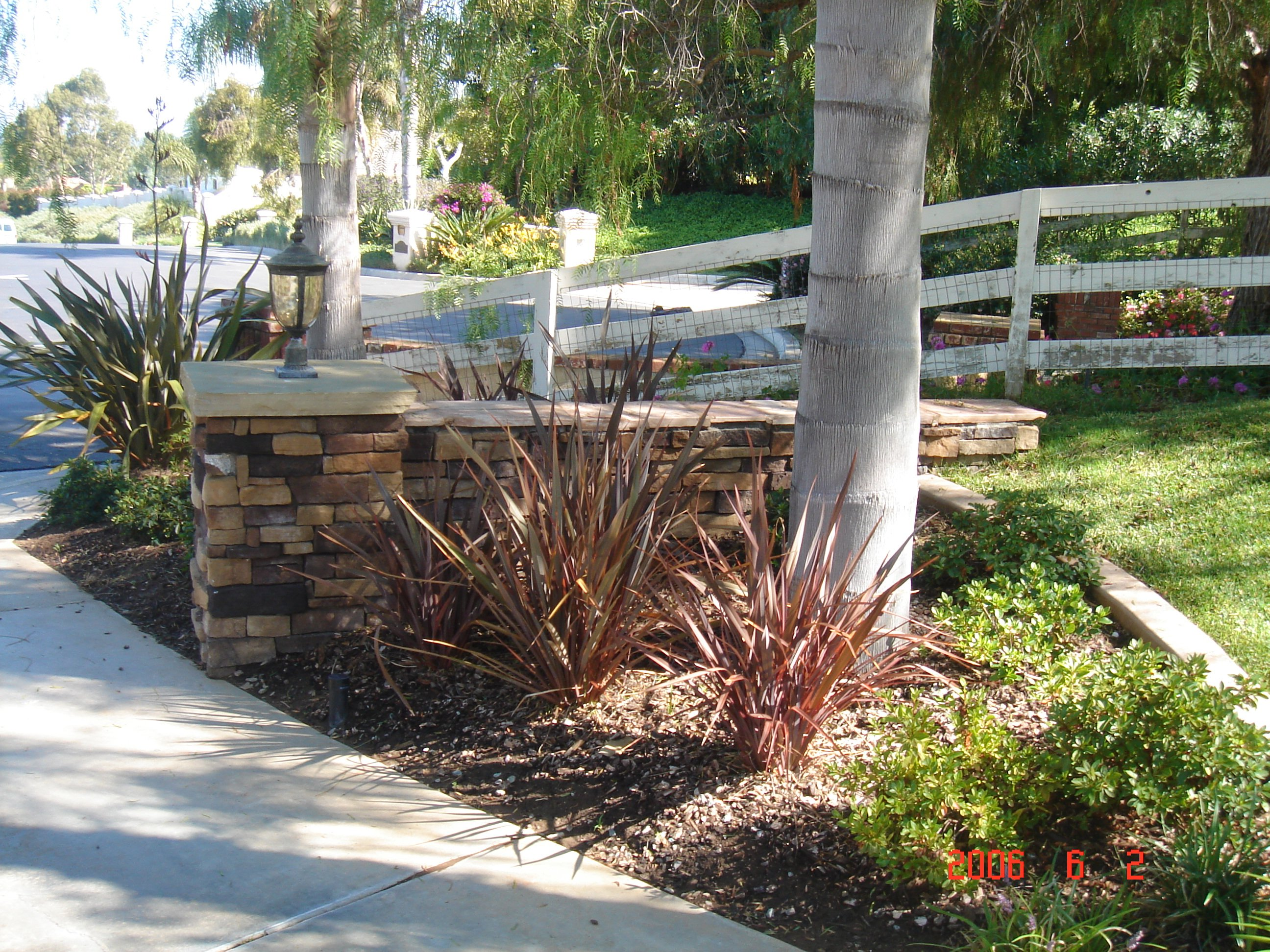 View of outdoor landscaping