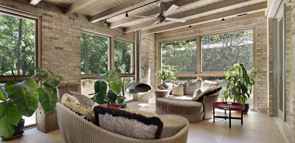 Sunroom home addition contractor