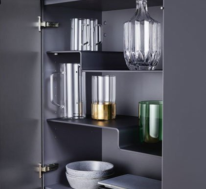 Modern Gray Cabinet