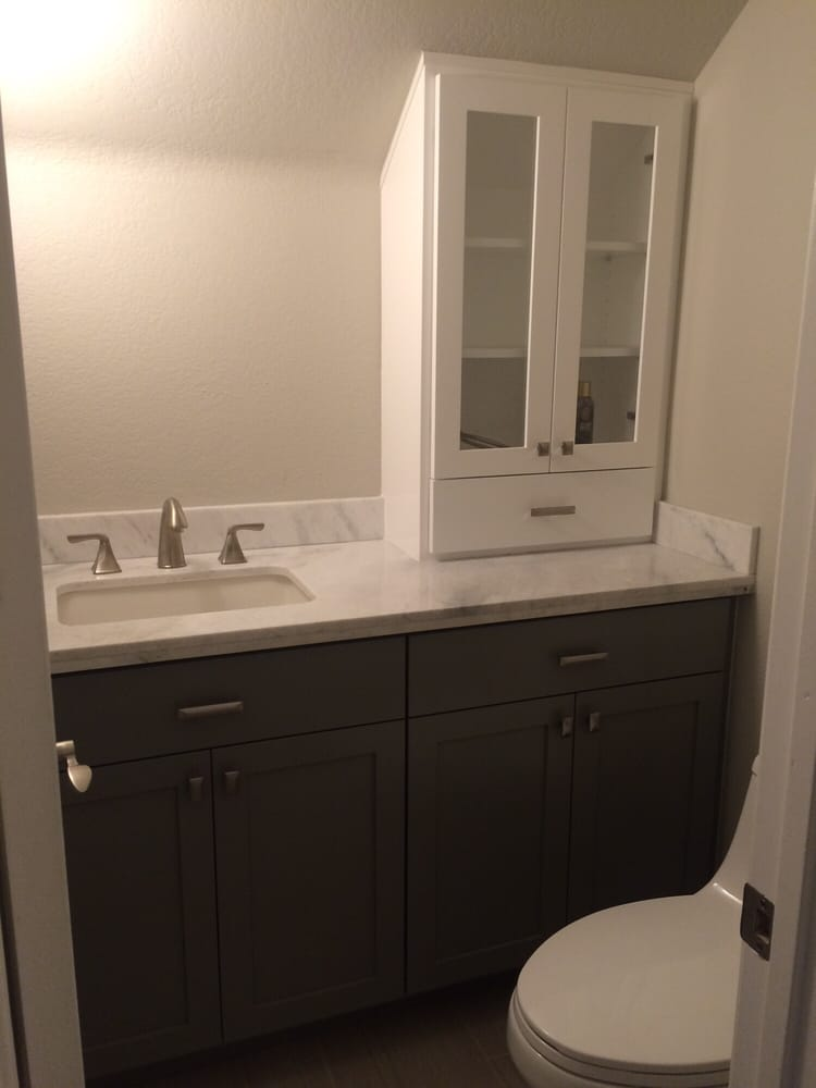 Bathroom Vanity with cupboard