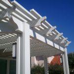 White portico