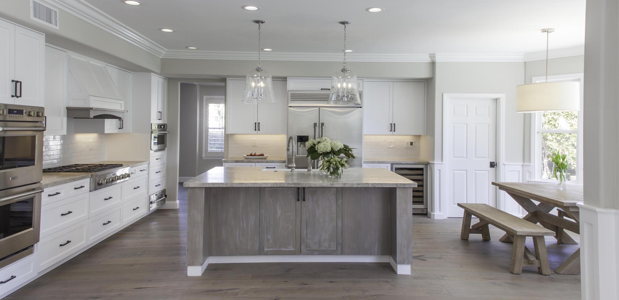 An image of a newly finished kitchen.