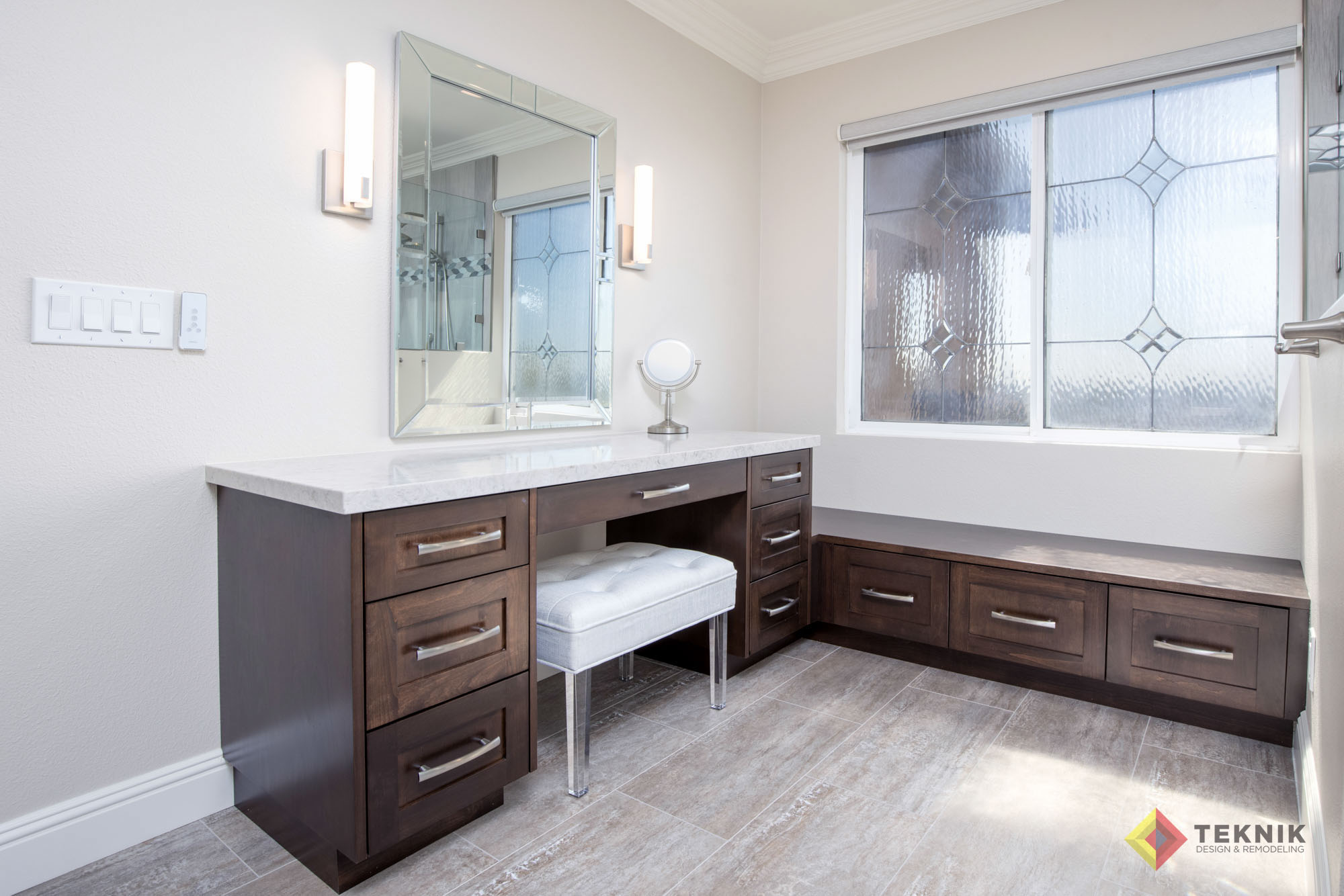 Teknic Bathroom Remodel in San Diego